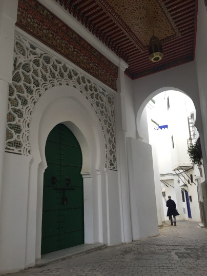 Walking in Tangier's old city