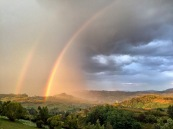 Double Rainbow near Bogdan Vodă