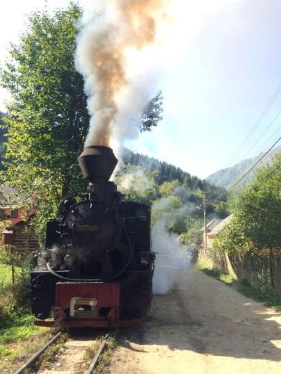 Mocănița steam engine