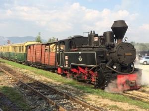 Mocănița steam train