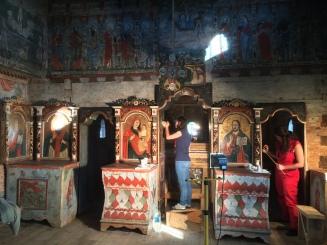 Restoration work underway at Rozavlea