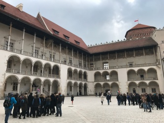Courtyard of Wawel Castle