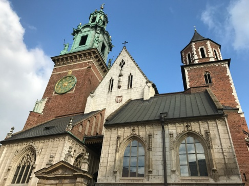 Exterior of The Royal Archcathedral Basilica of Saints Stanislaus and Wenceslaus