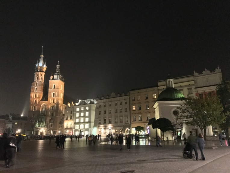 Rynek Główny—the main market square