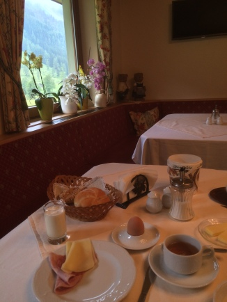 Breakfast at B&B Kernhof