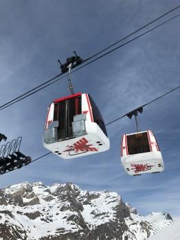 Val d'Isère's vintage gondolas