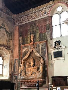 Brenzoni's Mausoleum in Chiesa di San Fermo