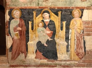 Frescos in Basilica di San Zeno