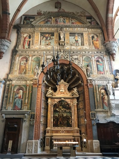 Side altar at Santa Maria Matricolare