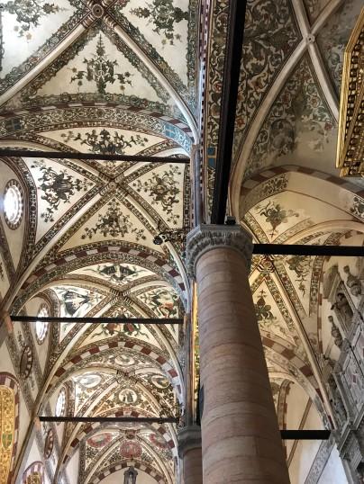 Sant'Anastaia ceiling