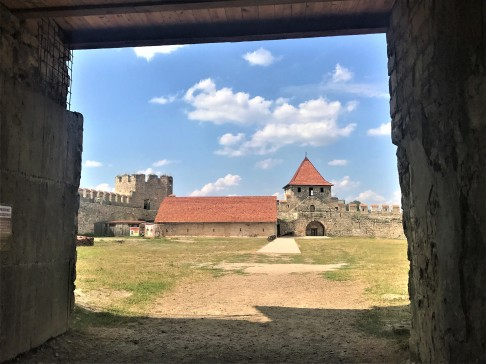 Entry gate at Bender Fortress
