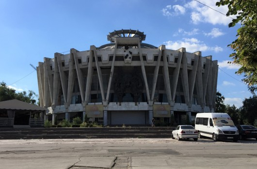 Chișinău's abandoned State Circus, built in 1981 with 1,900 seats, it hosted dozens of events annually during its heyday.