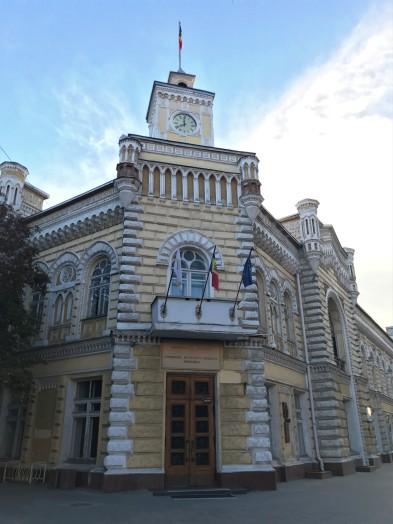 Chișinău's Italian Gothic-style City Hall
