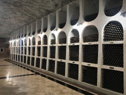 Private wine storage at Cricova Winery