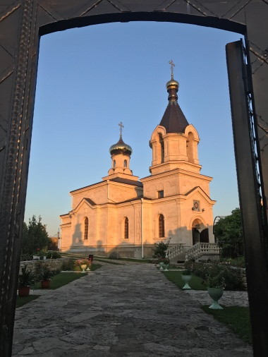 The Ascension of St. Mary Church in Orheiul Vechi