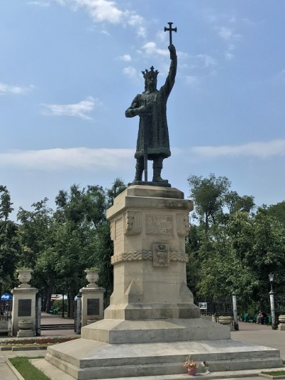 Statue of Stefan cel Mare, Prince of Moldavia