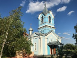 Țîpova Monastery's newest church