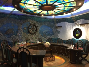 """The """"Seabed"""" tasting room at Cricova Winery, inspired by the Sarmatic Sea which was present on this site 12 million years ago."""