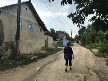 The streets of Butuceni, near Orheiul Vechi