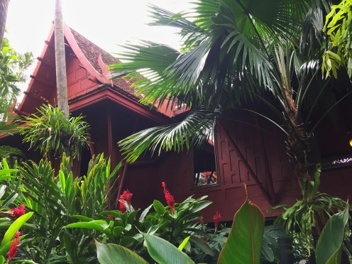 Silk entrepreneur Jim Thompson's teak wood house in Bangkok