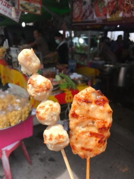 Satay at Chatuchak Market
