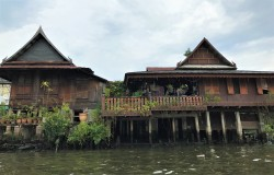 A house on the canal in Thonburi
