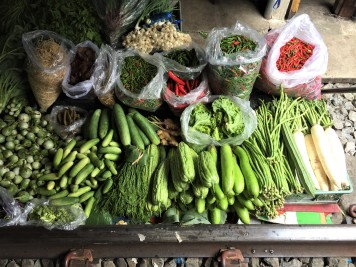 Thailand's bounty of fresh vegetables