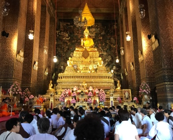 The ordination hall at Wat Pho