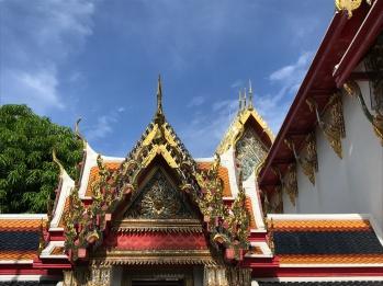 Rooftops of Wat Pho