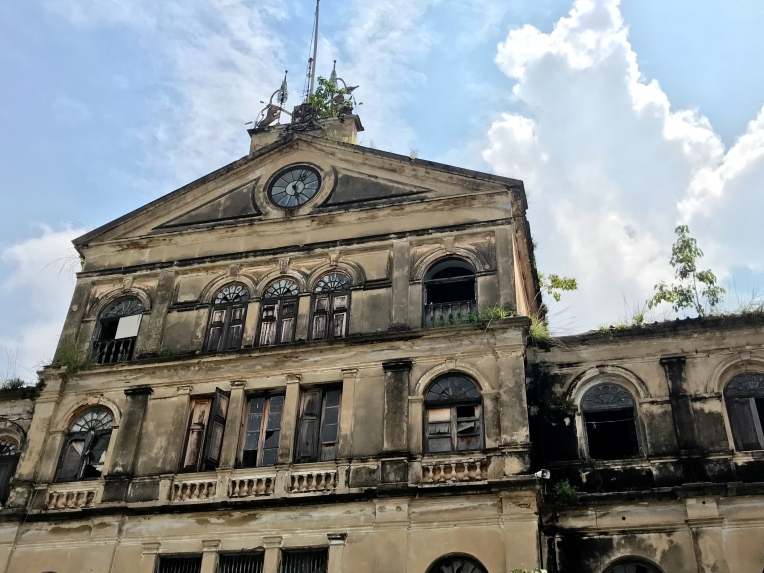 The Old Customs House in Bangkok—built in 1888, the now-unused building sits on the banks of the Chao Phraya River.