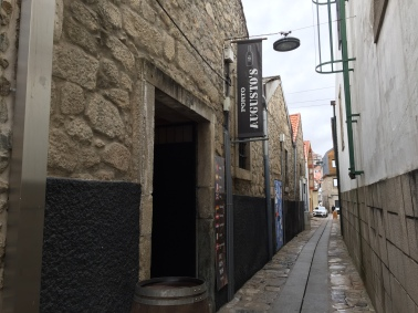 The entrance to Augusto's port cellar