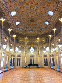 Palácio da Bolsa's 19th century Moorish-style Arab Room