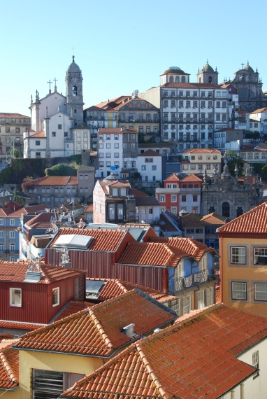 Views over the hills of Porto