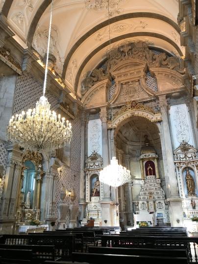 Interior of Igreja da Misericórdia
