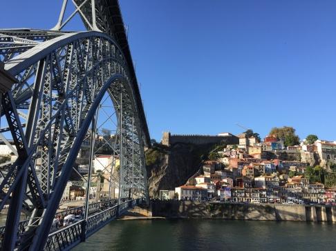 The bi-level Ponte Luís I Bridge