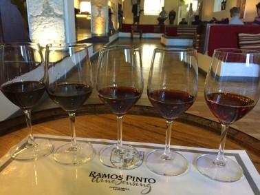 Port tasting at Ramos Pinto