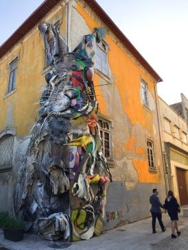 Street art in Vila Nova de Gaia