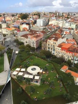 Views from Clérigos Tower