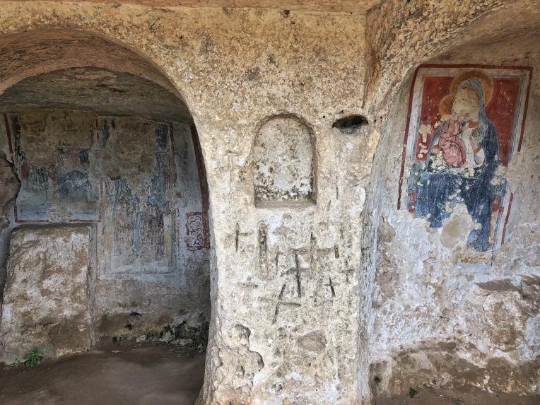 Frescos at Madonna delle Tre Porte
