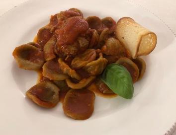 Puglia's local orecchiette pasta