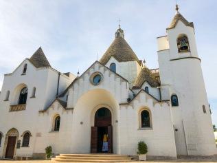 Chiesa Sant'Antonio, the trulli church in Alberobello