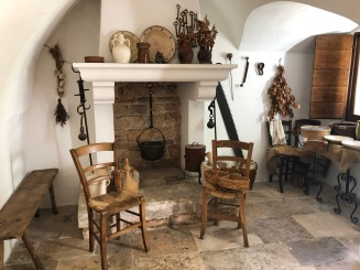 The interior of Trullo Sovrano
