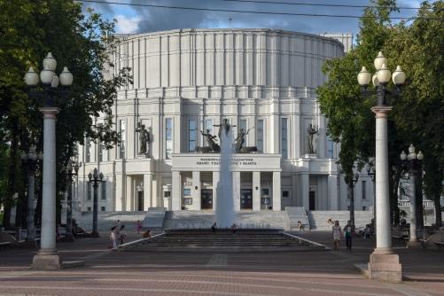 Minsk's Bolshoi Theatre