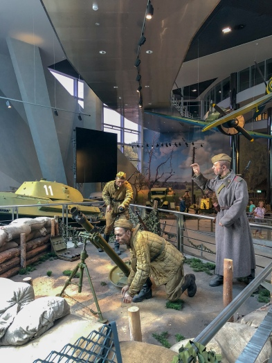 Display at the Museum of the History of the Great Patriotic War