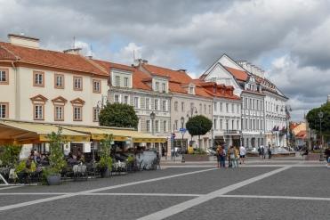 Vilnius's Town Hall Square