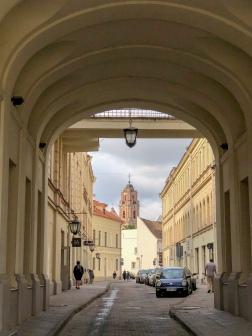 Vilnius street scene