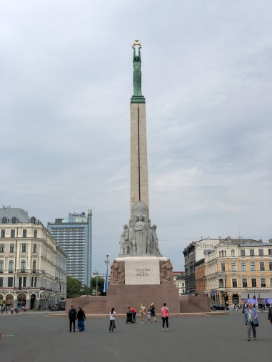 The Freedom Mounment in Riga