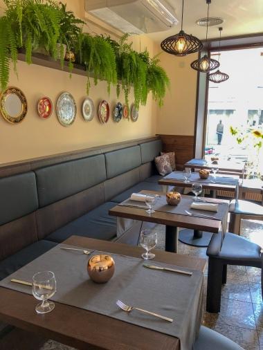 Interior of the restaurant Milda