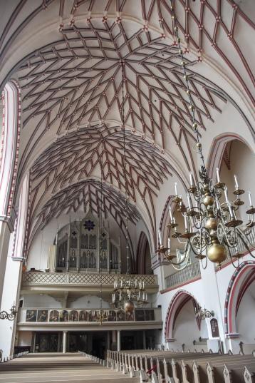 The interior of St. John's Church