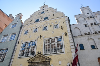 "The ""three brothers""—the oldest dwellings in Riga"